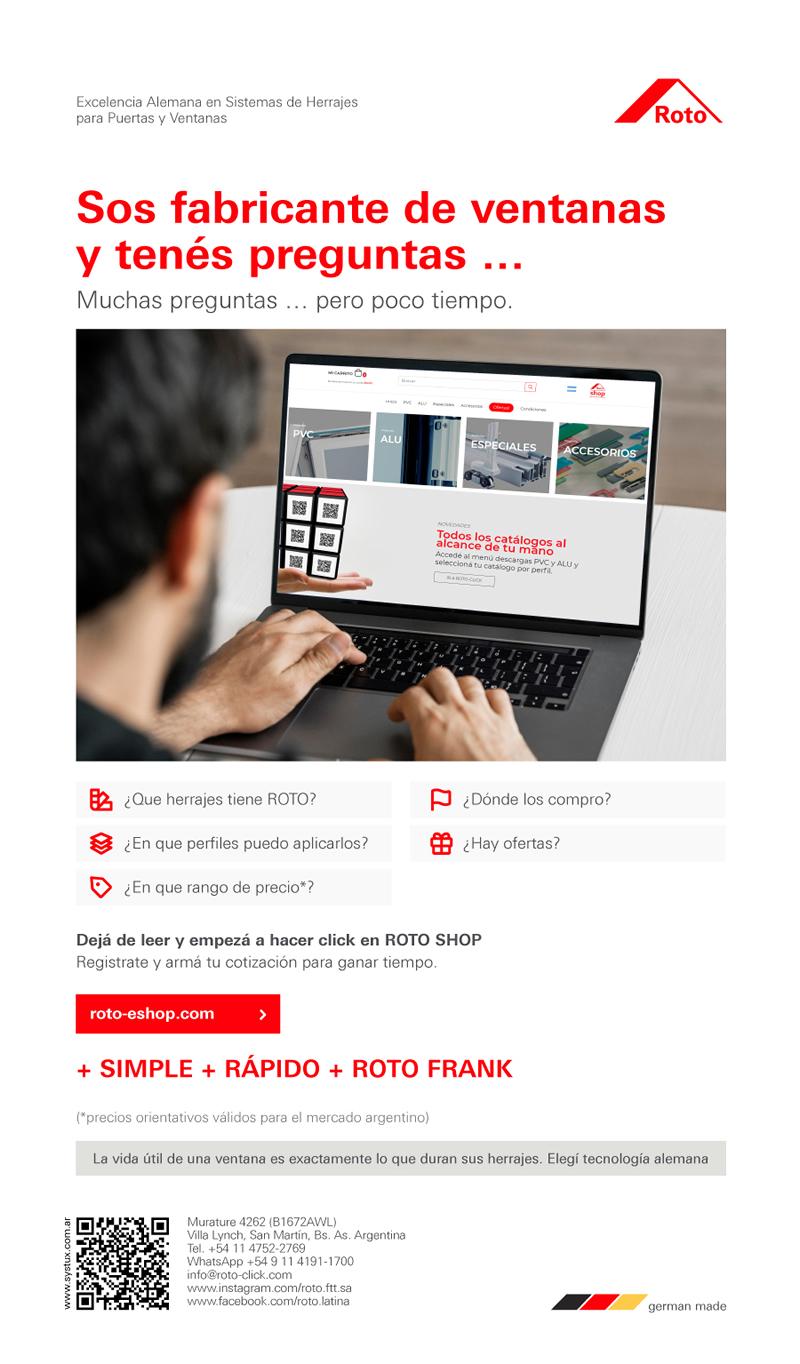 Roto Frank - Sos fabricante de ventanas y tenés preguntas